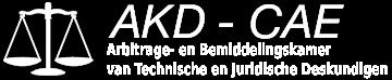 Logo AKD - CAE : Arbitragekamer - Chambre d'arbitrage